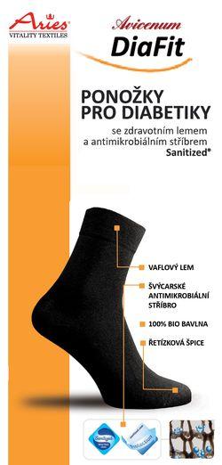 Při vývoji ponožek pro diabetiky jsme reflektovali všechna upozornění  diabetologů a podiatrů 61e244fbb0